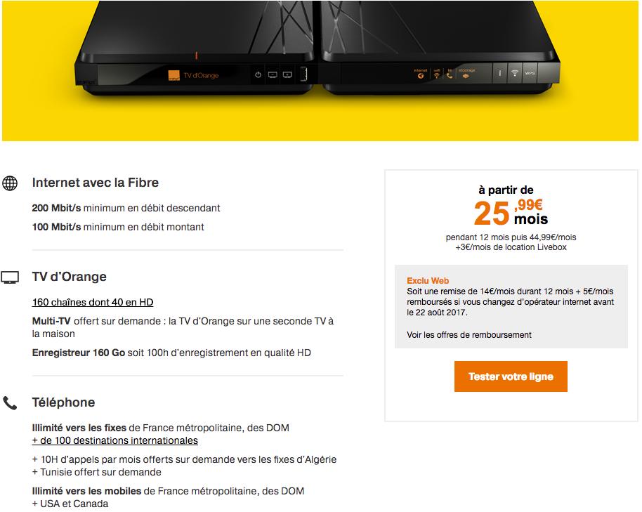 avis Orange Livebox Play Fibre