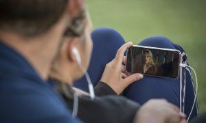 mobile phone youtube